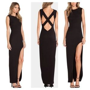 Lovers + Friends Passion Black Gown